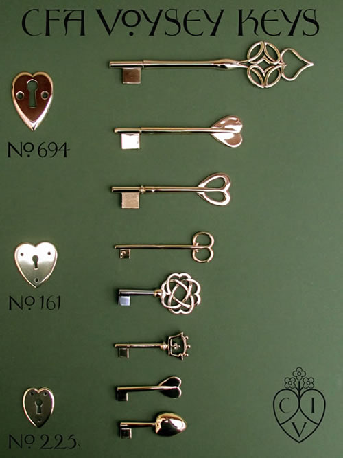 Voysey Metalwork