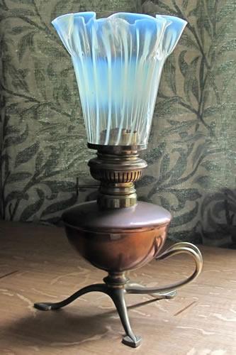 Was Benson Oil Lamp