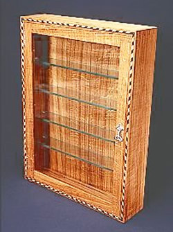 Arts & Crafts Design : Wall Mounted Display Cabinet