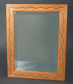 Chequered Inlay Mirror