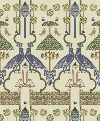 Voysey WALLPAPER DETAILS