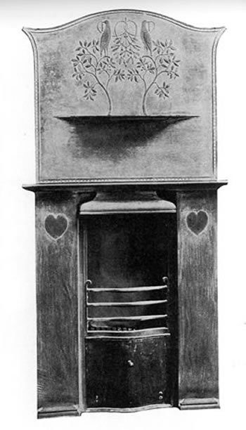 Voysey The Fireplace DETAILS