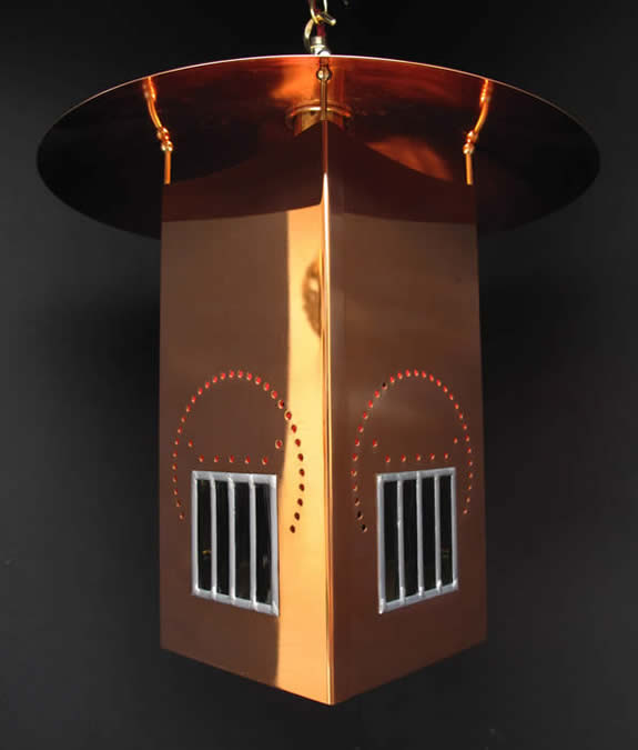 Cr mackintosh willow lantern details