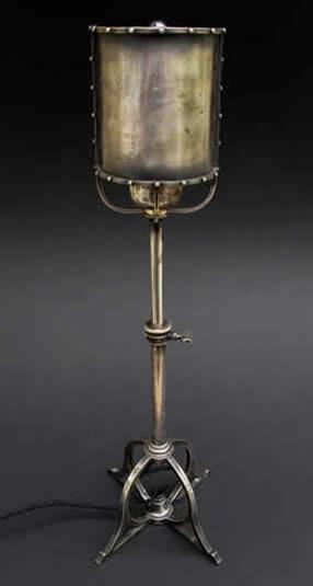 Birmingham guild of handicraft lighting for Dressing table lamp lighting