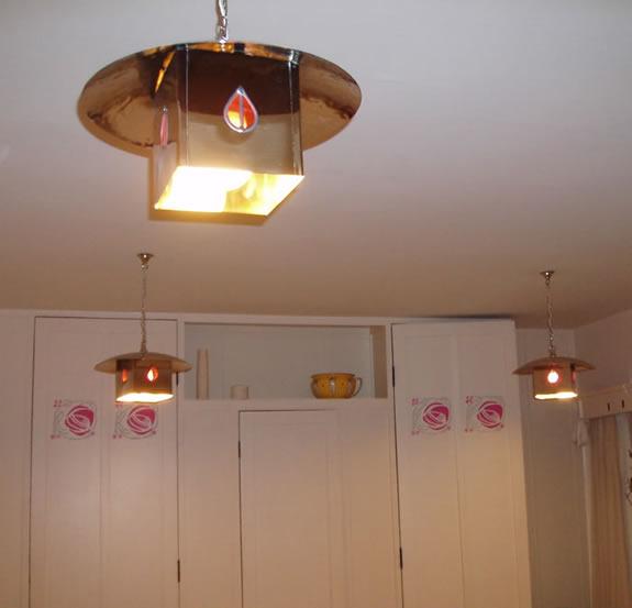 Charles Rennie Mackintosh Light Details